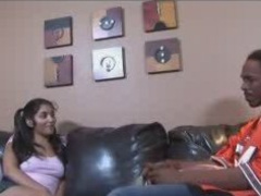 Sweet Indian Girl Gets The Dark Meat