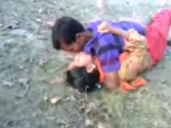 Sexy Indian GF Has A Hard Fuck With Her BF Outdoors