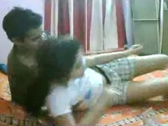 Indian Couple Enjoying Sex