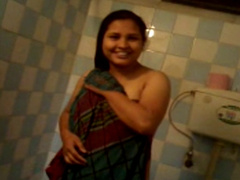Desi Cute Girl After Shower