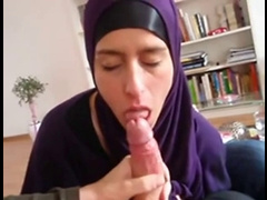 Hijabi Turkish Muslimah Sucks A Nazis Big Nordic-German Dick