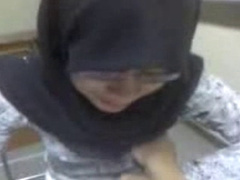 Malaysian Hijab Girl Boob Press