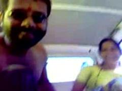Marathi Babhi Fucking With Friend In Car
