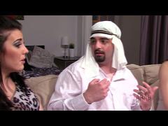 Arab Mistress Cuckolds Arab Husband Slave