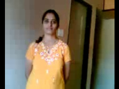 Shy Indian Aunty (Marathi) Stripping