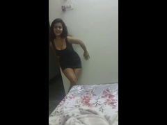 Desi Girl Seductive Striptease Shaking Ass (no Nudity)