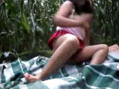 Indian Whore Fucked In A Cornfield