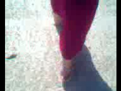 Sexy Hijab With Nice Soles An Sandals